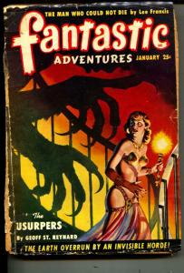 Fantastic Adventures-Pulp-1/1950-Geoff St. Raynard-Berkeley Livingston