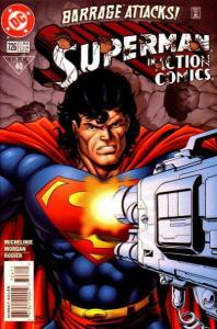 Action Comics (1938 series) #726, NM + (Stock photo)