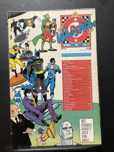 Who's Who: The Definitive Directory of the DC Universe Update '88 #...