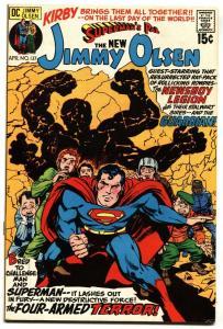 SUPERMAN'S PAL JIMMY OLSEN #137 1971 DC COMICS GUARDIAN VF+