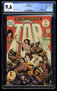 Tor #1 CGC NM+ 9.6 White Pages