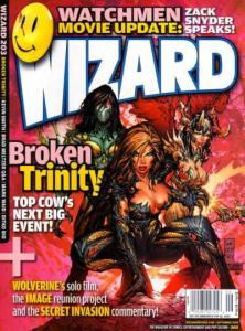 Wizard Magazine #203, VF+ (Stock photo)