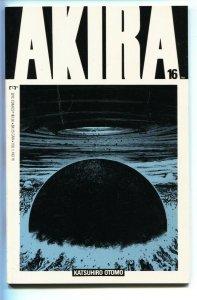 Akira #16 1989- Katsuhiro Otomo- Epic / Marvel Manga Japanese comic