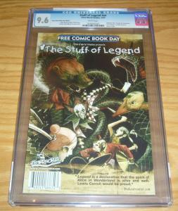 Stuff of Legend 2010 CGC 9.6 mike raicht - brian smith  th3rd world studios fcbd