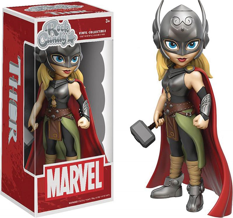 Rock Candy Marvel Lady Thor Figure (Funko, 2016) New!