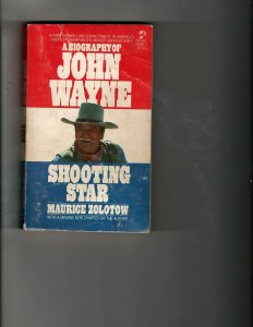3 Books John Wayne Shooting Star Noman Barnabas Collings Mystery Biography JK14