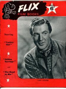 Flix Film Books #3 1947-Gary Cooper-Veronica Lake-Marlene Dietrich-Crosby-FN