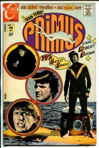 Primus #1 1972-Charlton-1st issue-Ivan Tors-Robert Brown-FN/VF
