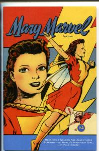MARY MARVEL FANZIINE #2 2005-GOLDEN AGE REPRINTS-5 1/4 X 7 5/8-COLOR-nm