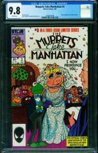 MUPPETS TAKE MANHATTAN #3 1984 -CGC 9.8 -MARVEL- 2038827008