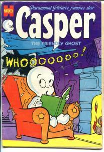 CASPER #18 1954-HARVEY-GHOST ISSUE-BABY HUEY-good