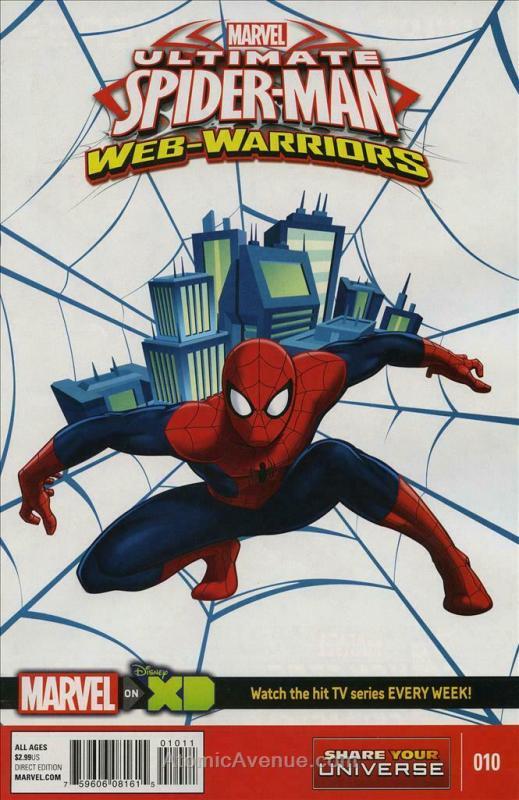 Marvel Universe Ultimate Spider-Man: Web Warriors #10 VF/NM; Marvel   save on sh