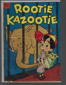 Rootie Kazootie #6 (Dell, 1953) GD