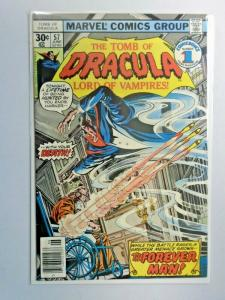 Tomb of Dracula #57 1st Series water stains 5.0 (1977)