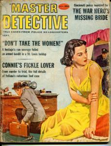 Master Detective 9/1959-MacFadden-Good Girl Art cover-Joe Little-D.L. Champion-P