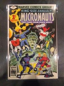 Micronauts Annual #1 (1979) NM condition