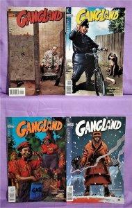Ed Brubaker GANGLAND #1 - 4 Frank Quitely Tim Bradstreet (DC, 1998)!