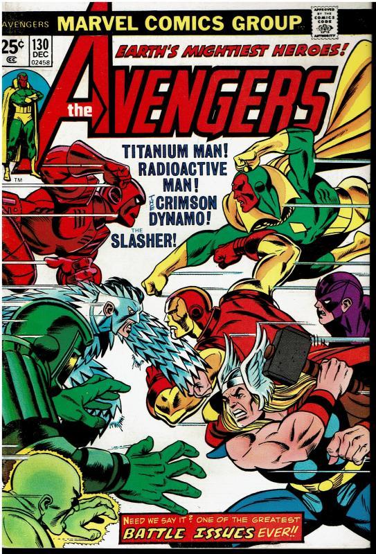 Avengers #130, 7.0 or Better