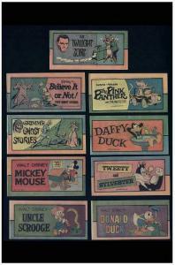 MINI COMIC 1976 LOT 9 diff  Uncirculated,Disney+++++