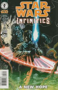 Star Wars: Infinities—A New Hope #3 VG; Dark Horse   low grade comic - save on s