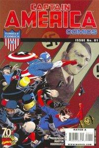 Captain America Comics 70th Anniversary Special #1, NM + (Stock photo)
