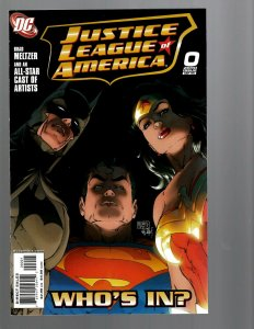 12 DC Comics Justice League Of America # 0 1 2 3 4 5 6 7 8 9 10 11 J439