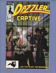 Dazzler #34 VF/NM Marvel 1984