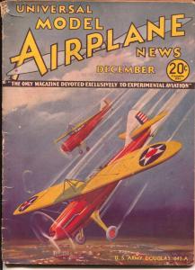 Model Airplane News 12/1934-US Army Douglas 043A fighter plane-Kotuia-G