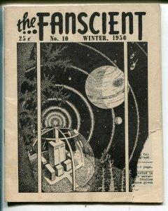 Fanscient #10 1950-Lin Carter-D Bruce Barry-classic fanzine-pulps-G
