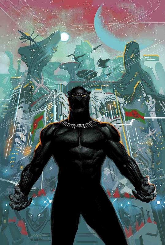 Black Panther Poster by Acuna (24 x 36) Rolled/New!