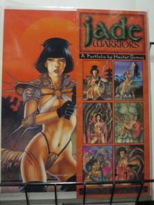 Comic Art Portfolios Lot of 6 11 x 14 FULL COLOR 36 prints BAD GIRLS ART signed