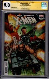Uncanny  X-Men #11! Lim Variant! CGC SS 9.0! Signed by Matthew Rosenberg!