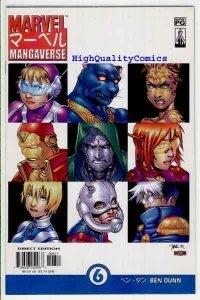 MARVEL MANGAVERSE #6, NM, Ben Dunn, 2002, Dr Doom, Iron Man