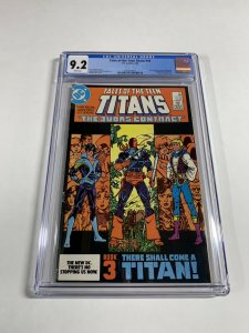 Tales Of The Teen Titans 44 Cgc 9.2 White Pages 1st Nightwing Dc Comics