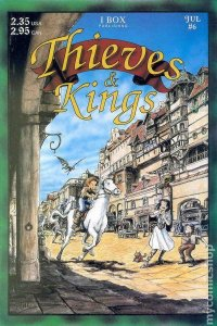 THIEVES & KINGS #6, VF/NM, Mark Oakley, 1st, I Box, Independent, 1994 1995
