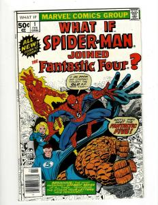 What If? #1 FN+ Marvel Comic Book Spider-Man Fantastic Four Avengers GK18