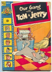 Our Gang Comics #56 1949- Tom & Jerry- Golden Age VG-