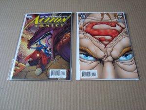 LOT OF 17 MODERN SUPERMAN RELATED COMICS