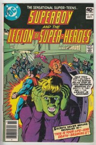 Superboy #256 (Nov-79) FN/VF Mid-High-Grade Superboy, Legion of Super-Heroes
