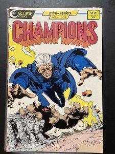 Champions #4 (1986)