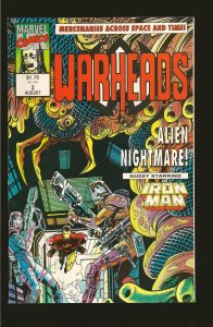 Marvel Comics Warheads (UK) #3 August (1992)