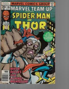 Marvel Team-Up #70 (Marvel, 1978) VF-