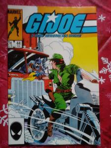 G.I. Joe, A Real American Hero #44 (1986, Marvel)  1st app of Dr. Mindbender