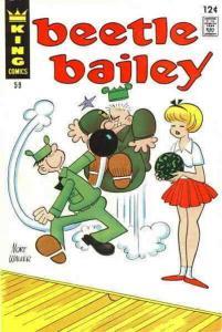 Beetle Bailey (Vol. 1) #59 VG; Charlton | low grade comic - save on shipping - d