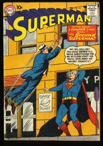 Superman #119 VG 4.0 DC Comics