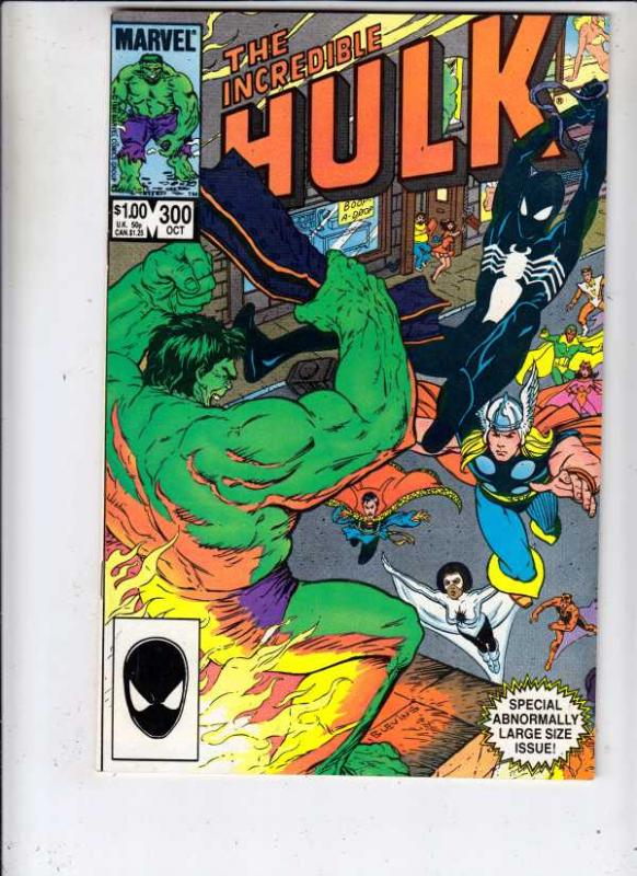 Incredible Hulk #300 (Oct-84) NM/NM- High-Grade Hulk