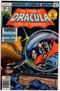 TOMB OF DRACULA #66 (7.0) 1978 Marvel Bronze