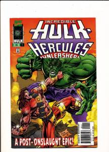 Marvel Comics The Incredible HULK Hercules Unleashed #1 Oct 1996 VF (SIC524)