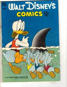 Walt Disney's Comics & Stories # 143 FN- Dell Comic Book Donald Duck JL3