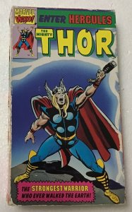 Thor: Marvel Comics VHS The Mighty Thor Enter Hercules/The Tomorrow Man